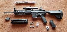 Airsoft AEG VFC HK 416 D Magazine Tasco Scope Geissele Handguard Wrench Lot