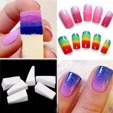 8Pcs Nail Art Sponge Stamp Stamping Polish Template Transfer Manicure Tools Kit