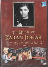 THE MUSIC OF KARAN JOHAR - NEW BOLLYWOOD 32 TOP HIT SONGS DVD