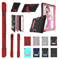 For Lenovo Tab E10 10.1 Inch Case Heavy Duty Shockproof Rugged W/Built Kickstand