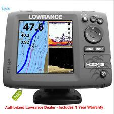 Lowrance HOOK-5 Combo w/83/200/455/800 HDI TM/Transducer 000-12656-001