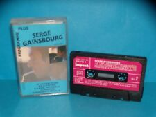 Serge Gainsbourg - Programme plus - Volume 1 - 1985 - K7 / Tape