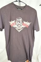 Lucky Brand Classic Fit Small Brown Men's T-SHIRT