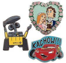 Disney 30th Anniversary Pin Limited Edition Week 7 Cars Enchanted Wall.E
