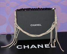 Chanel Multistrand Imitation Pearl Beaded Stretch *Headband* Headpiece GHW +Box!