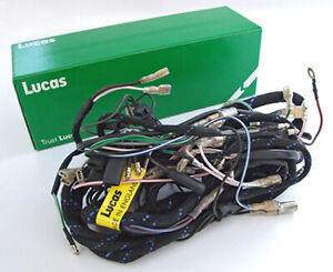 BSA C15 B40 Genuine Lucas Complete Wiring Harness DISTRIBUTOR  MODELS LU54940666