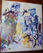 JOAN MITCHELL: Trees, 2014 Oversized Exhibition Catalogue 13 x 11 'As New' Cond.
