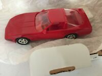 AMT/ERTL -1994 CHEVY CORVETTE ZR-1 PROMO - #6258 -1:25 - TORCH RED  - NEW
