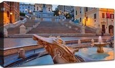 Quadro Moderno Cm 100x50 Stampa su Tela 1 pz Arredamento Arredo Arte Roma