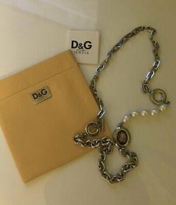 Designerkette Silber 925 Gold Silberkette Collier Top Design 44 cm Halskette