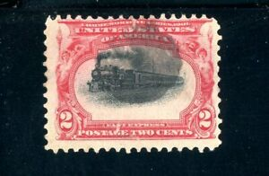 USAstamps Used FVF US 1901 Pan-American Scott 295 High Train