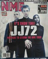 Nme Music Magazine.20 January 2001.Jj72 Cover.Rem/Feeder/Fred Durst/Eels/Wheatus