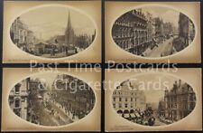 c1905 Birmingham Set of 4, Corp St, Post Office, Bull Ring ALL IMAGES SHOWN
