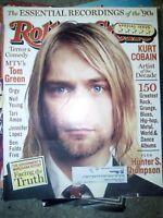NIRVANA kurt cobain neil young tori amos jennifer lopez  Rolling Stone Magazine