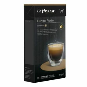 Caffesso Lungo Forte Nespresso Capsules (50)