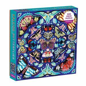 Kaleido Buterflies 500pc Family Jigsaw Puzzle by Mudpuppy