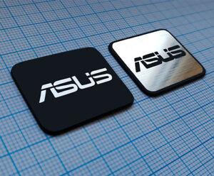 ASUS Metallic Sticker Set - Badge ( 2 emblems ) - 30 mm x 26 mm