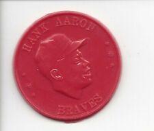 1960 Armour Coins Hank Aaron Braves Orange