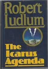 """The Icarus Agenda"", by Robert Ludlum, Signed 1st Edition, COA, UACC RD 036"