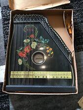 Zither Jubeltöne Schwarz Mit Noten Im Originalkarton Mandoline Harp
