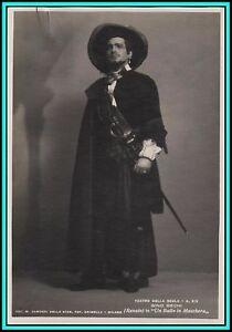 """GINO BECHI - Italian Baritone in """"Un Ballo in Maschera"""" - Orig. Vintage Photo"""