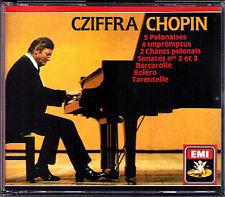 Georges CZIFFRA: CHOPIN Piano Sonata No.2 3,  6 Polonaise 4 Impromptu Bolero 2CD
