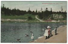 St. John, N.B. Canada, Early View of Rockwood Park