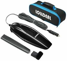 Mini Portable hand-held Car Vacuum Wet Dry Tool 14.8 ft Power Cord Lolldeal Bag