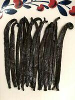 10 Tahitian Grade A Gourmet Vanilla Beans [4 inches]  | Tahitian Tahitentis