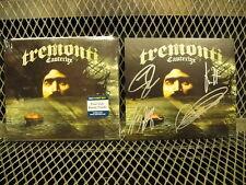 TREMONTI CAUTERIZE ~ ALTERBRIDGE ~ Signed ART CARD SEALED CD 4 LIVE BONUS TRACKS