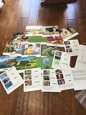 Harcourt Social Studies: Vocabulary-Picture Cards Grade K History Large Cards