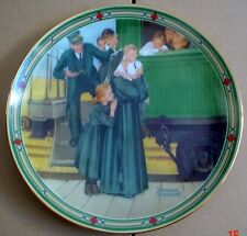 Knowles American Fine China AN ORPHANS HOPE By Norman Rockwell
