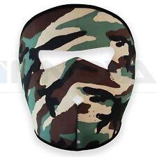 Néoprène militaire INTÉGRAL armée Masque REVERSIBLE MOTO SKI QUAD
