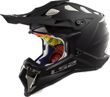 LS2 MX470 Subverter Motocross Helmet Matt Black Off Road Crash Lid Racing MX