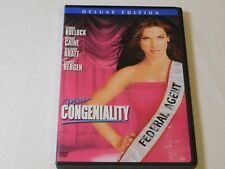 Miss Congeniality (DVD, 2005, Deluxe Edition) Rated PG-13 Comedy Sandra Bulloc !