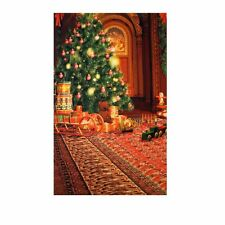 Christmas Tree Gifts Children Studio Photography Backdrop Vinyl Background Props