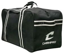 Champro Hockey Equipment Carry Bag Storage Ice Rink Practice Duffle Black EBHBL