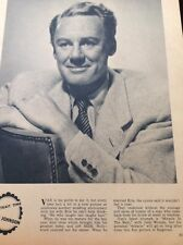 N1-6 Ephemera 1956 Picture Actor Van Johnson