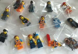 LEGO The Lego Movie Minifigures Select Your Character. Emmet, Wyldstyle, Bad Cop