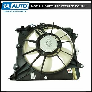 New A/C Radiator Cooling Fan Assembly Left LH Shroud Motor For Honda Fit