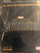 Mezco One:12 Black Panther Figure Marvel Comics Chadwick Action Movie