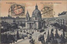 POLAND WARSZAWA PLAC I KOSCIOL SW. ALEKSANDRA WYD FR. KARPOWICZ N°9