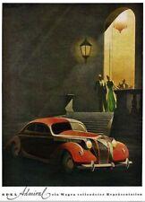 Années 1930 opel automobile pub affiche A3 réimpression