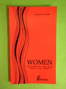 WOOLF-SHAW E ALTRI. WOMEN-RACCOLTA NOVELLE INGLESE FERRARO 1987