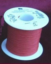 4 Metres of Red Silver-Plated 7 Strand Tone Arrm Tonearm Wire for Rewiring