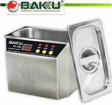 BAKU BK-3550 Stainless Steel Ultrasonic Cell Phone Water Damage Cleaner 35W/50W