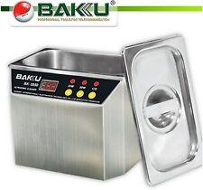 BAKU BK-3550 Stainless Steel Ultrasonic Cell Phone Water Damage Cleaner 35W/50W