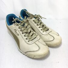 Puma Roma 68 Women's 6 Beige Lace Up Athletic Walking Fashion Sneakers