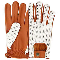 New Men's classic full finger top quality real soft leather driving gloves 506