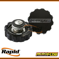 Billet Radiator Cap Small Style suit 32mm Water Neck Aeroflow AF64-5032BLK